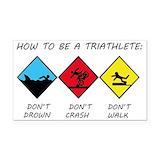 """Triathlon 3"""" x 5"""""""