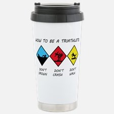 Triathlete Stainless Steel Travel Mug