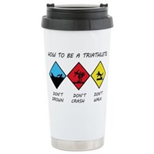 Triathlete Travel Coffee Mug