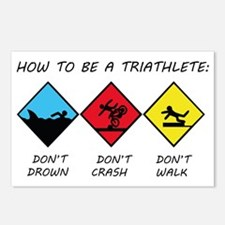 Triathlete Postcards (Package of 8)