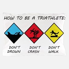 Triathlete Pillow Case