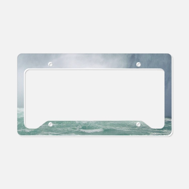 angel walk license plate holder