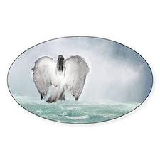 Angel walk Decal