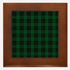 Graham Celtic Tartan Plaid Framed Tile