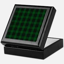 Graham Celtic Tartan Plaid Keepsake Box