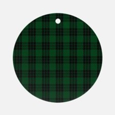 Graham Celtic Tartan Plaid Round Ornament
