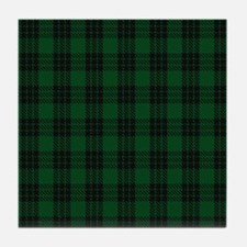 Graham Celtic Tartan Plaid Tile Coaster