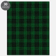 Graham Celtic Tartan Plaid Puzzle