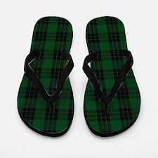 Graham Celtic Tartan Plaid Flip Flops