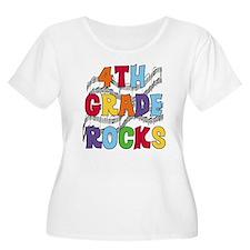 Bright Colors 4th Grade T-Shirt