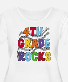 Bright Colors 4th Grade T-Shirt
