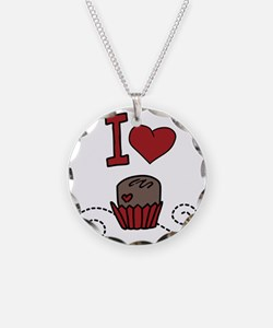 I Love Chocolates Necklace