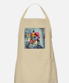 Yellow Daisies & Roses BBQ Apron