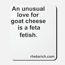 Feta Cheese Mousepad