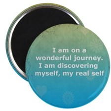 I am on a Journey 5.25 Magnet