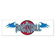 Rock n roll Bumper Sticker