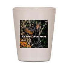 Doberman Cover image 2 Shot Glass