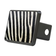 Zebra Print Rectangular Hitch Cover