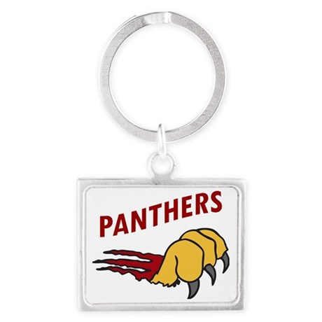 Panthers Landscape Keychain