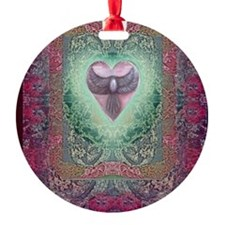 PEACE  LOVE MANDALA Ornament