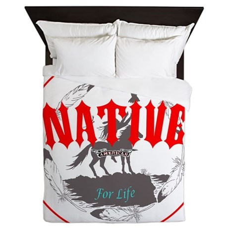 Native American For Life Queen Duvet By Admin Cp4469584