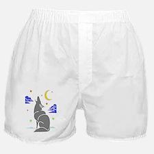 Grey Wolf Boxer Shorts