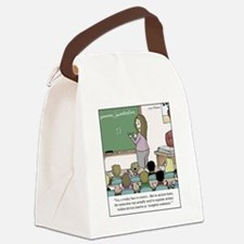 Using the Semicolon Canvas Lunch Bag