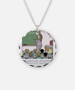 Using the Semicolon Necklace Circle Charm