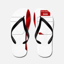 Shaun of the Dead - Ink Flip Flops