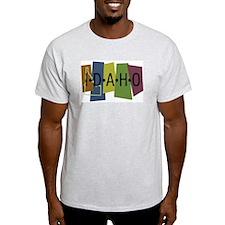 Colorful Idaho T-Shirt