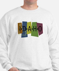 Colorful Idaho Sweatshirt