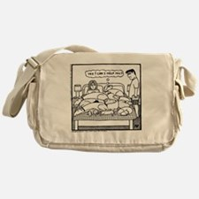 Yes? Can I Help You? Messenger Bag