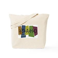 Colorful Idaho Tote Bag