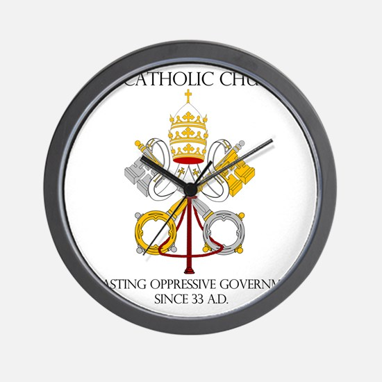 The Catholic Church Wall Clock