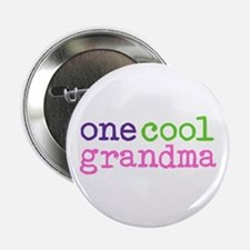 one cool grandma Button