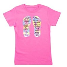 I stand in awe... - FlipFlops Girl's Tee