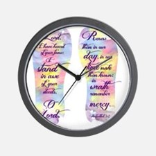 I stand in awe... - FlipFlops Wall Clock
