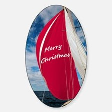 Christmas Spinnaker Decal