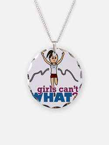Girl Runner Necklace