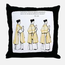 PS. 121 Throw Pillow