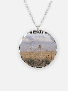 Ski Nebraska Necklace