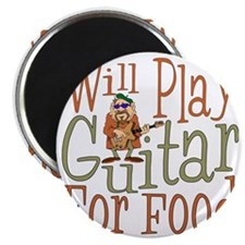 (CP) Will Play Guitar dk Magnet