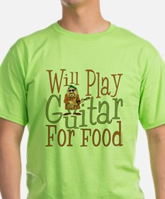 (CP) Will Play Guitar dk T-Shirt
