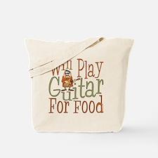 (CP) Will Play Guitar dk Tote Bag