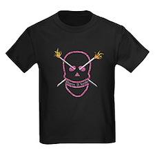 Born 2 knit Kids Dark T-Shirt