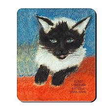 Siamese Kitten by Elsie Mousepad