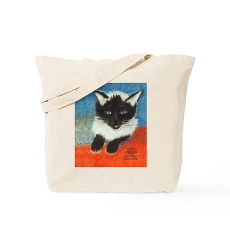 Siamese Kitten by Elsie Tote Bag