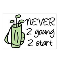 Never 2 Young Postcards (Package of 8)
