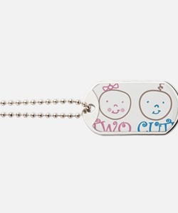 Two Cute Dog Tags