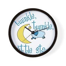 Twinkle Little Star Wall Clock